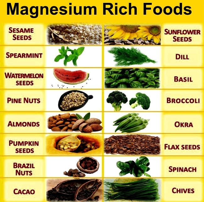 Magnesium Rich Foods - healthy way to prevent leg cramps