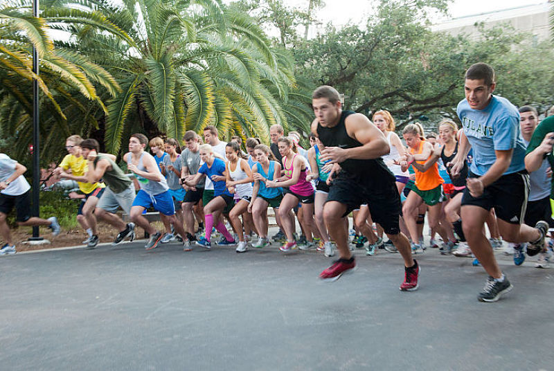 Fun runs are a grest way to set yourself a challenge and target to improve your performance