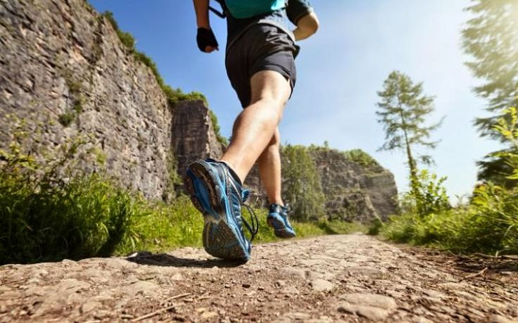 Running through the great outdoors is very inspiring and avoids the chance of boredom running around tracks and road circuits
