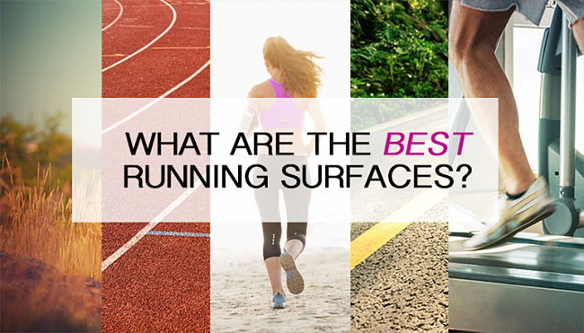 Find out which surface is best to run on and how to adpat your running style and gait
