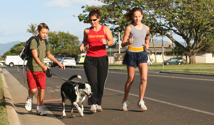 Dogs love to run and quickly adapt so that they run at your pace