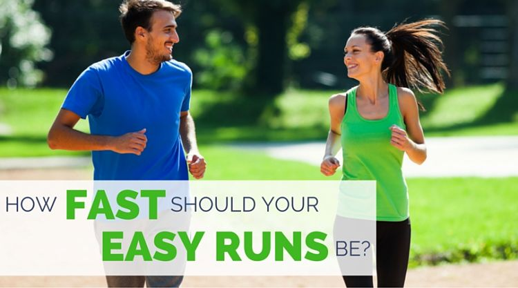 Being able to engage in a conversation is a good guide to an easy running pace