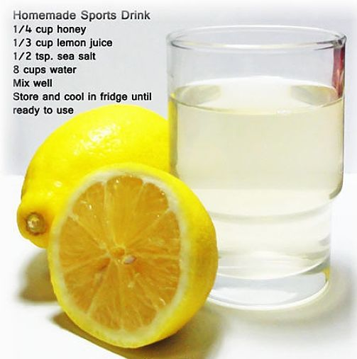 Homemade energy drinks do the job much better than commercial varieties. See the array of fabulous recipes in thus article