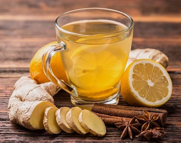 Lemon, ginger and vanilla energy drink recipe - see the grat recipes here