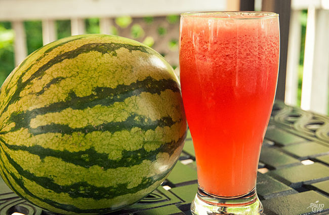 Watermelon has renowned properties as an energy drink. Learn why here