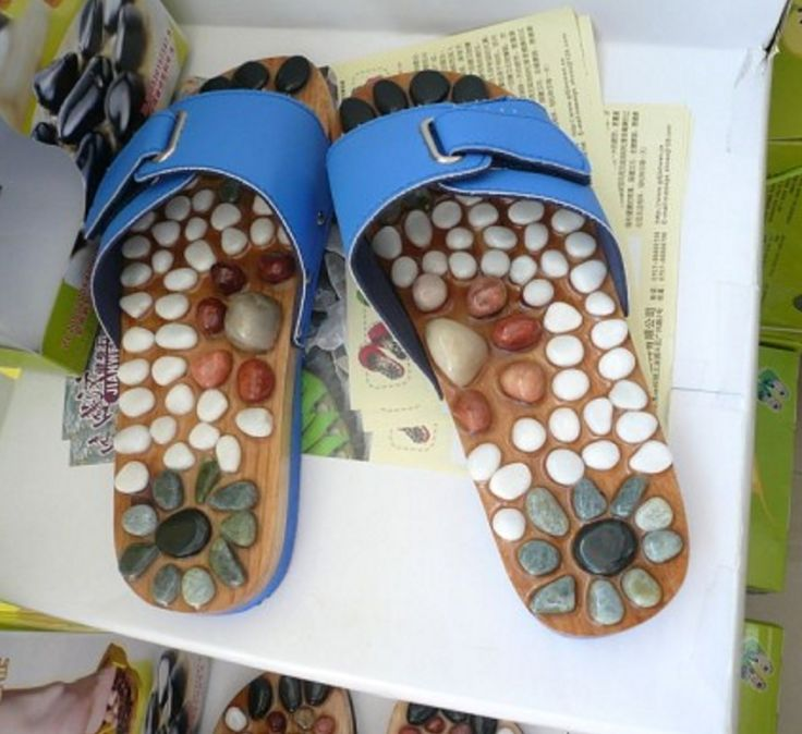 Pebble massage sandals from China