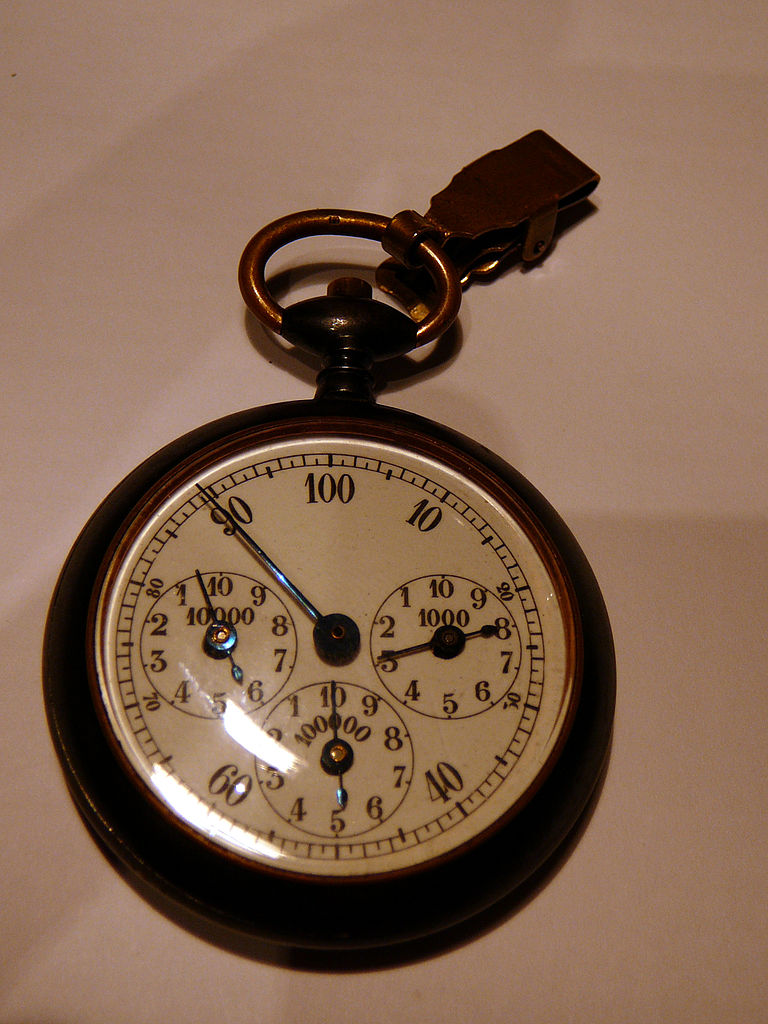 Pedometers are not new. This is an older model