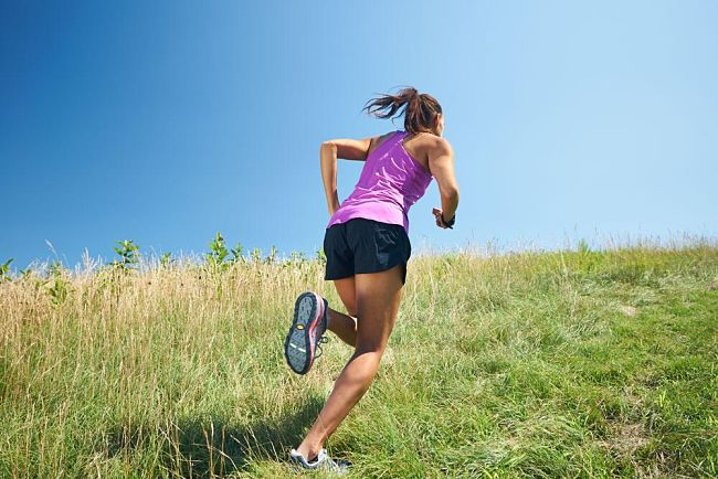 Uphill running is a form of interval training and helps build aerobic endurance, VOmax and the pace at which you can run comfortably